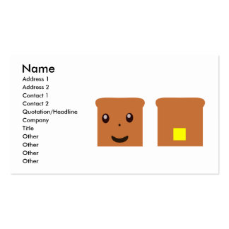 Toast Business Card