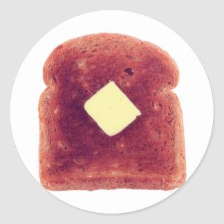 Toast! Classic Round Sticker