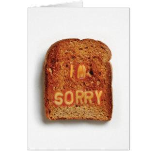 Toast  - Im Sorry Card