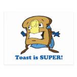 toast is super postcard