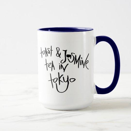 Toast & Jasmine Tea In Tokyo Mug
