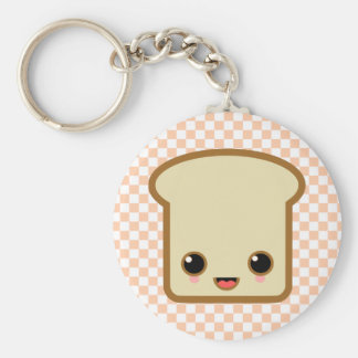 toast life basic round button keychain