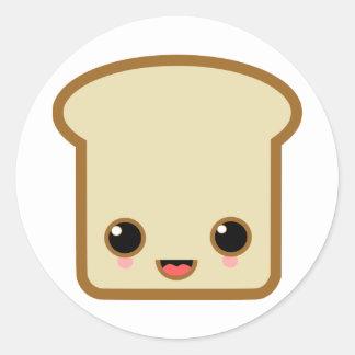 toast life classic round sticker