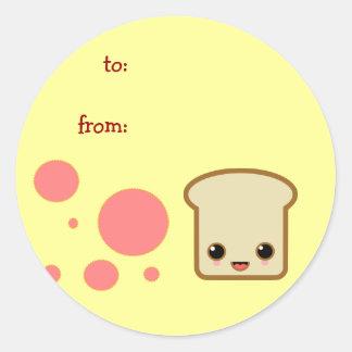 toast little cute sticker