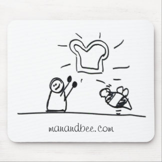 Toast Mouse Pads