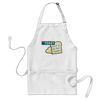 Toast: Not Just For New Year's Anymore. Adult Apron