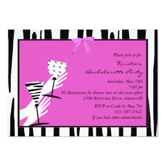 Toast of the Town - Bachelorette Party Invitation