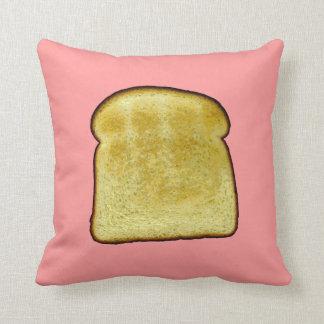 Toast Throw Pillows