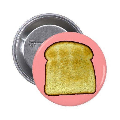 Toast Pinback Button