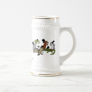 Toast to the New Year 18 Oz Beer Stein