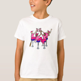 toast to the win girls T-Shirt