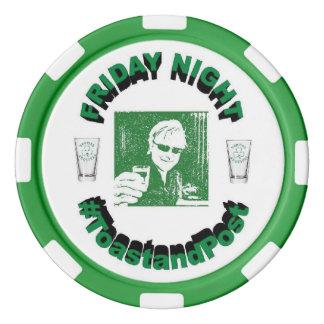 #ToastandPost Poker Chip Poker Chips Set