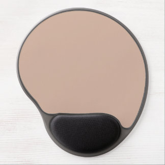 Toasted Almond Spring 2015 Solid Color Gel Mouse Pads
