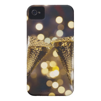 Toasted champagne flute, close-up iPhone 4 case