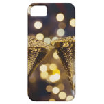 Toasted champagne flute, close-up iPhone 5 covers