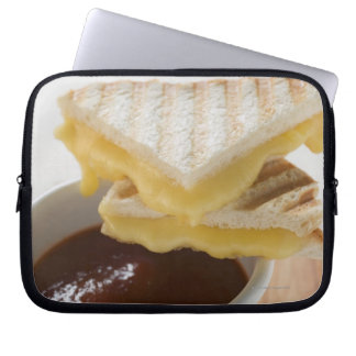 Toasted cheese sandwiches & a cup of tomato soup computer sleeve