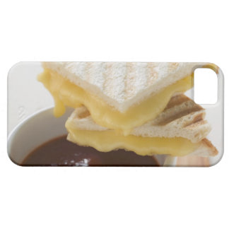 Toasted cheese sandwiches & a cup of tomato soup iPhone SE/5/5s case