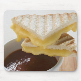 Toasted cheese sandwiches & a cup of tomato soup mouse pad