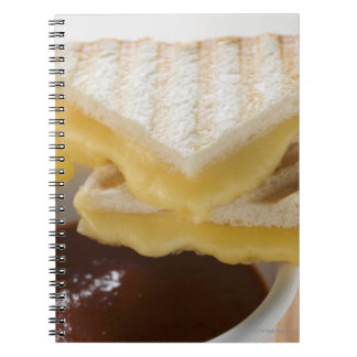 Toasted cheese sandwiches & a cup of tomato soup notebook