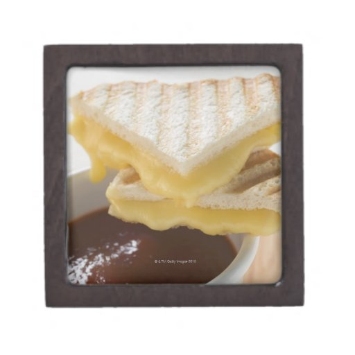 Toasted cheese sandwiches & a cup of tomato soup premium jewelry boxes