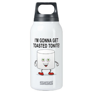 Toasted Marshmallow Insulated Water Bottle