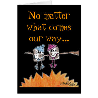 Toasted Marshmallows Greeting Card