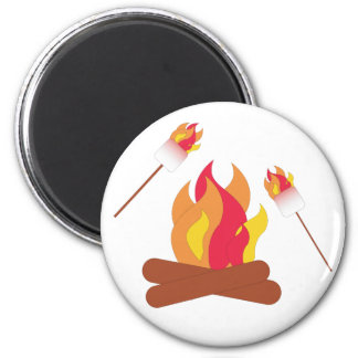 Toasted Marshmallows Magnets