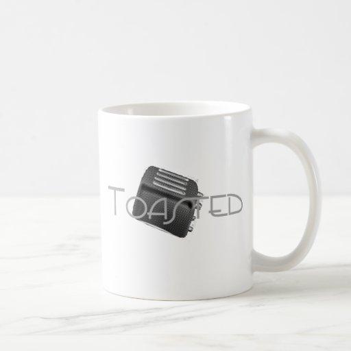 Toasted - Retro Toaster - B&W Negative Coffee Mug