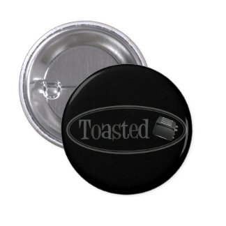 TOASTED Retro Toaster - Black & Grey Buttons