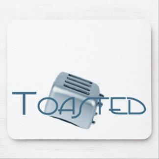 Toasted - Retro Toaster - Blue Mouse Pad