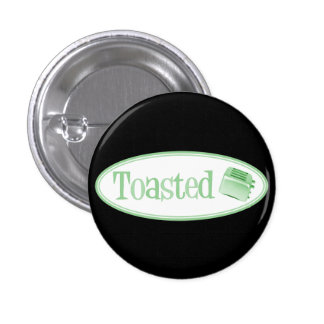 TOASTED Retro Toaster - Light Green Pins