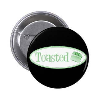 TOASTED Retro Toaster - Light Green Pin