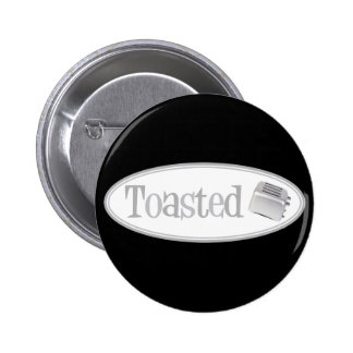 TOASTED Retro Toaster - Light Grey Pins