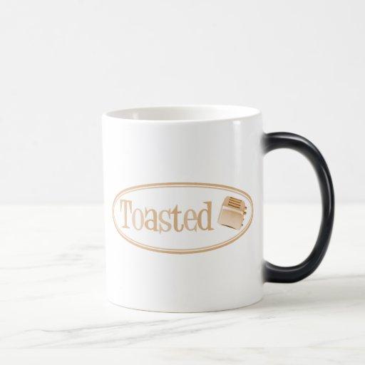 TOASTED Retro Toaster - Light Orange Magic Mug