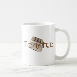 Toasted - Retro Toaster - Orange Sepia Coffee Mug