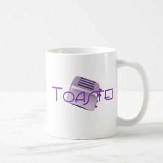 Toasted - Retro Toaster - Purple Coffee Mug