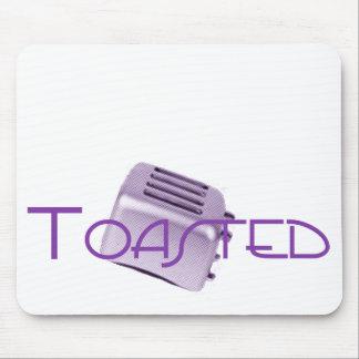 Toasted - Retro Toaster - Purple Mouse Pad