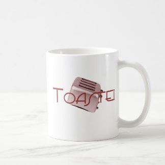 Toasted - Retro Toaster - Red Coffee Mug