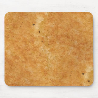 Toasted side of grilled cheese sandwich bread mouse pad