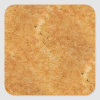 Toasted side of grilled cheese sandwich bread square sticker