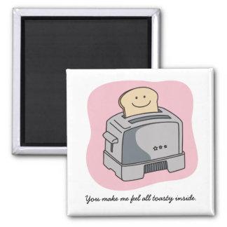 Toaster Love Kitchen Magnet