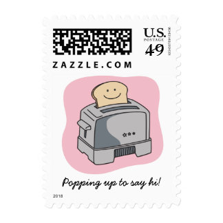 Toaster Love Postage Stamps