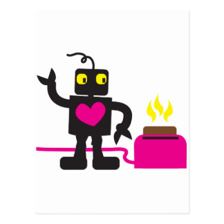 toaster love postcard