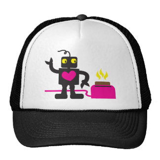 toaster love trucker hat