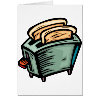 Toaster Note Cards