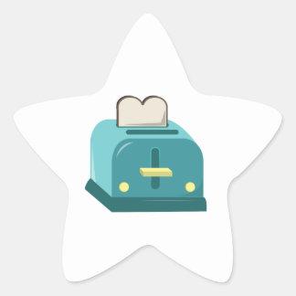 Toaster Star Sticker