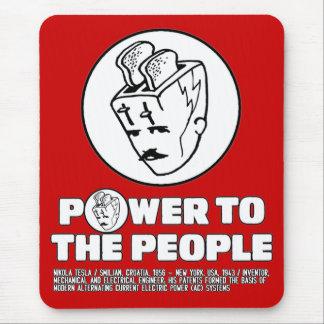 Toasterhead Tesla Power Mouse Pad
