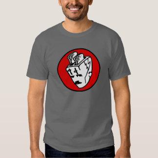Toasterhead Tesla Red2 Tee Shirt