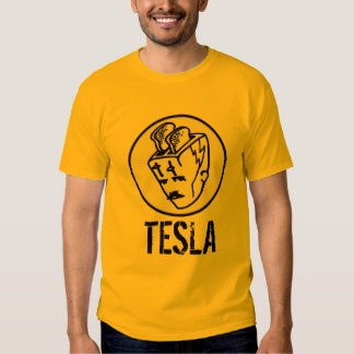 Toasterhead Tesla Transparent Tee Shirt