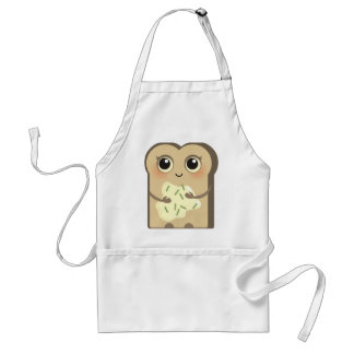 Toasties lindo - crema y cebolletas del queso delantal